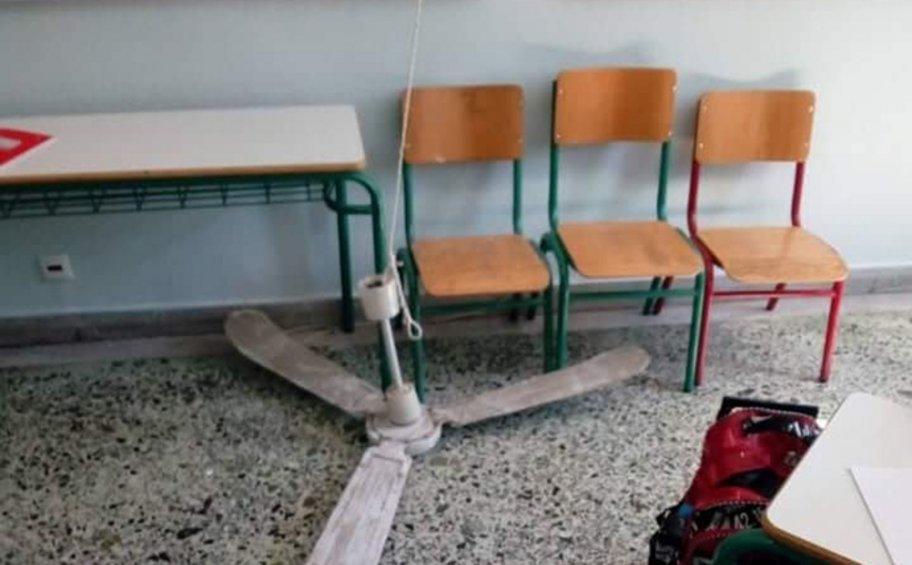 Η μητέρα της 8χρονης μαθήτριας που τραυματίστηκε από πτώση ανεμιστήρα μιλά στον ΑΝΤ1