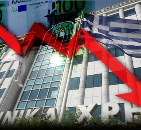 Χρηματιστήριο: Κάτω από το ψυχολογικό όριο των 600 μονάδων - «Σφυροκόπημα» στις τραπεζικές μετοχές