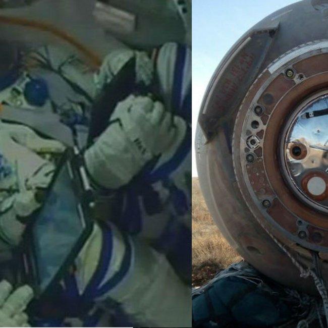 Θρίλερ με την κατάσταση της υγείας των αστροναυτών του Soyuz - Οι πρώτες εικόνες από τον θάλαμο