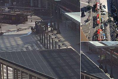 Ομηρία στον σιδηροδρομικό σταθμό της Κολωνίας: Τραυματίας μία γυναίκα - Συνελήφθη ο δράστης