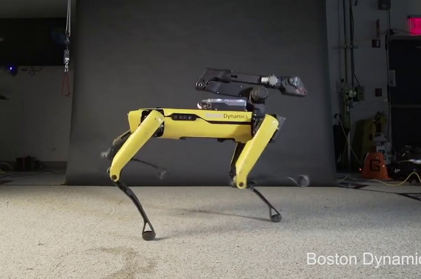 Το ρομπότ που χορεύει