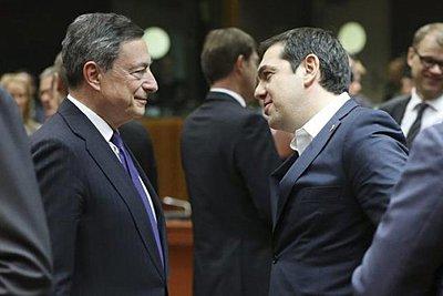 Συνάντηση Τσίπρα-Ντράγκι: Θετική η πορεία της ελληνικής οικονομίας - Αισιοδοξία για τα ομόλογα