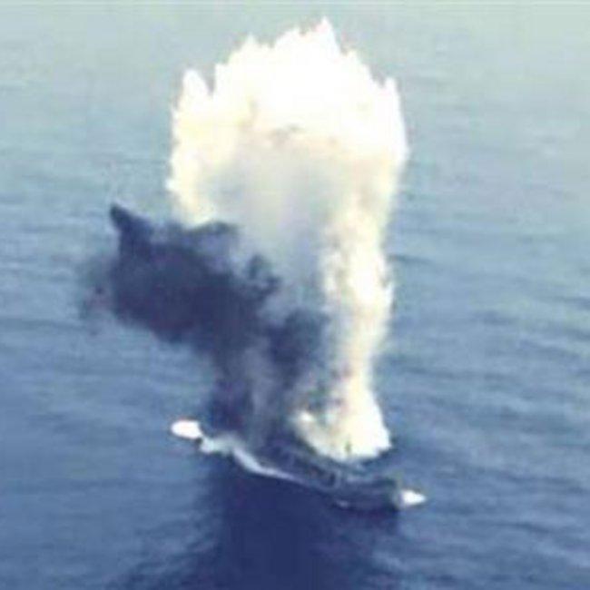 Προκλητική άσκηση από Τουρκία: Υποβρύχιο βύθισε πλοίο με τορπίλη