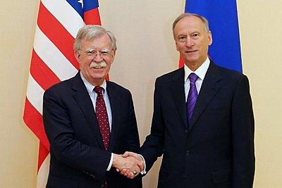 Μαραθώνια συνάντηση Μπόλτον-Πατρούσεφ στην Μόσχα για την προώθηση διαλόγου και συνεργασίας ΗΠΑ-Ρωσίας