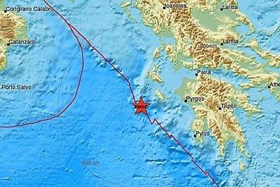 Νέα σεισμική δόνηση 4,4 Ρίχτερ στη Ζάκυνθο
