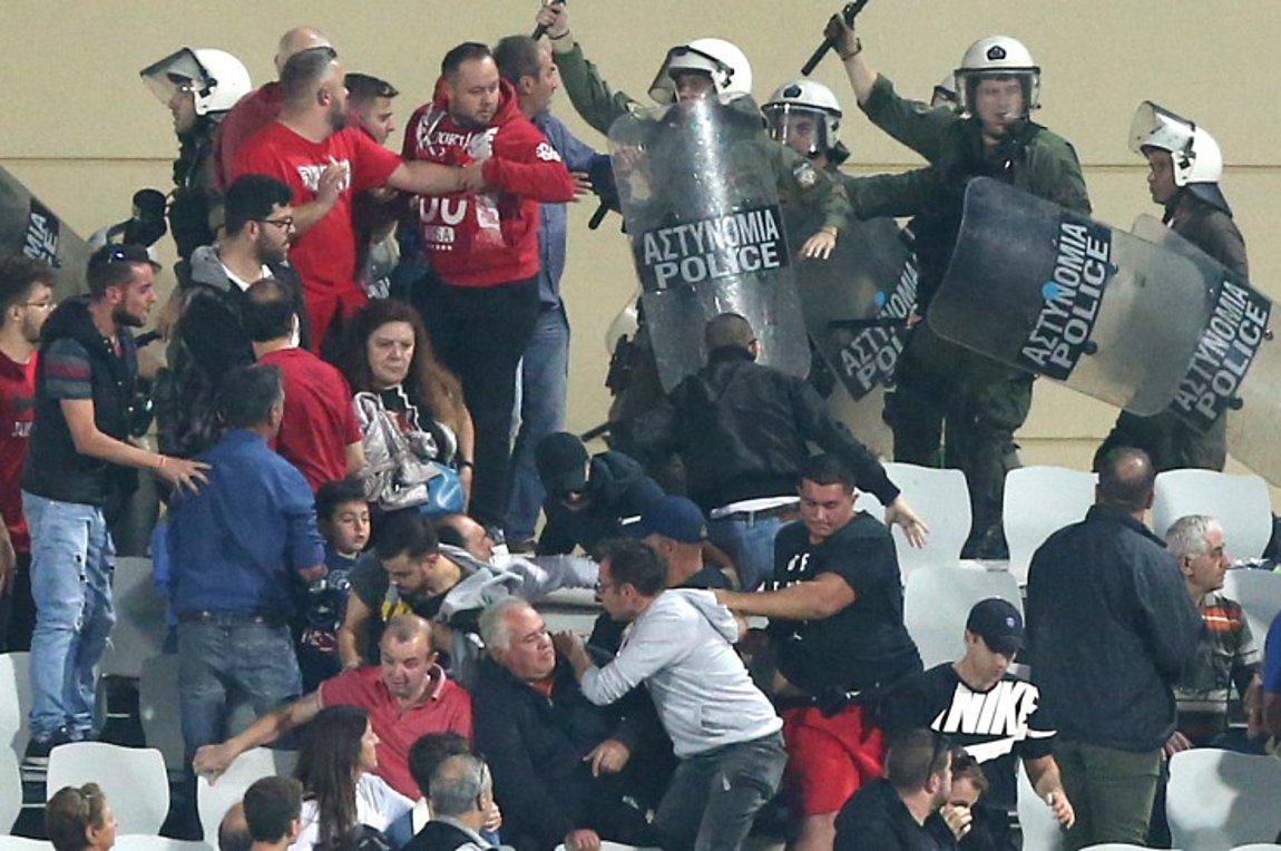 Ολυμπιακός: Προβοκάτσια στην Πάτρα - Αν αφαιρεθούν βαθμοί αυτό να γίνει από το Κύπελλο