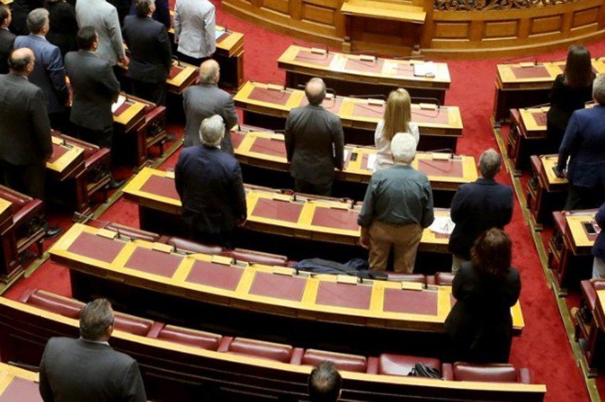 Ενός λεπτού σιγή για τον Κωνσταντίνο Κατσίφα τήρησε η Βουλή
