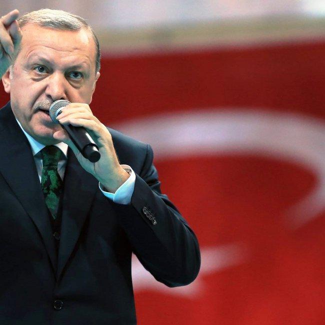 Ερντογάν προς ΗΠΑ: Με ποιο δικαίωμα ανακατεύεστε στην ανατολική Μεσόγειο;