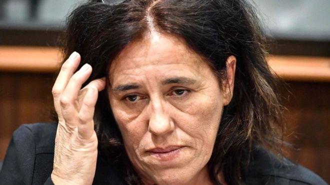 Η κατηγορούμενη Ρόζα Μαρία Ντα Κρουζ