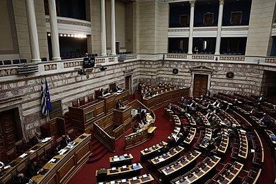Βουλή: Ομόφωνα ψηφίστηκε η ακύρωση του μέτρου της μείωσης των συντάξεων