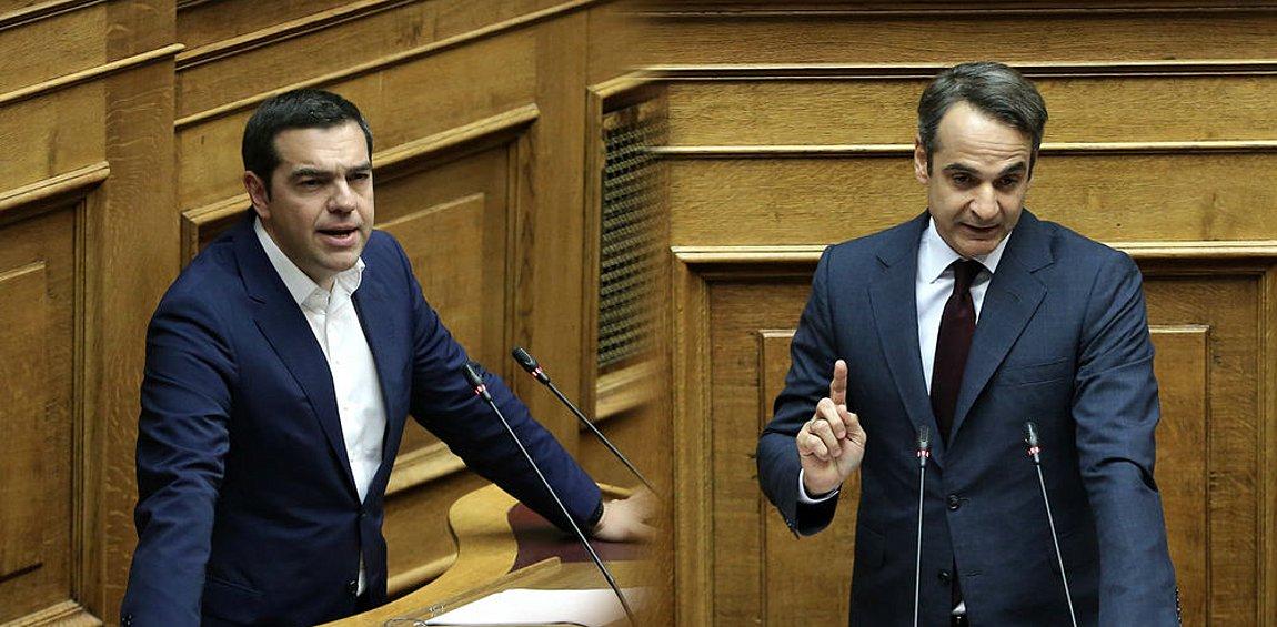 ΝΔ: Αν βιάζεστε για debate προκηρύξτε εκλογές - Μαξίμου: «Το βάζει στα πόδια ο Μητσοτάκης»