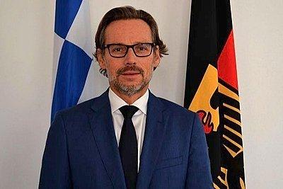 Γερμανός πρέσβης: Κοινή ελληνο-γερμανική θέση μια ευρωπαϊκή λύση στο προσφυγικό