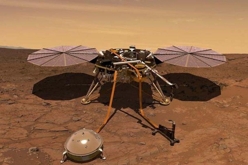 Για πρώτη φορά στη διαστημική ιστορία το InSight «άκουσε» και κατέγραψε τον άνεμο στον Άρη