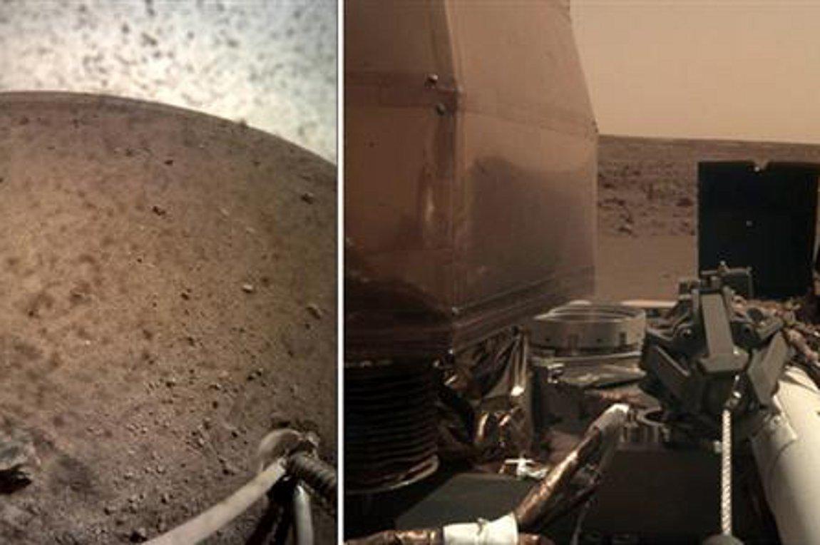 «Μαγεύουν» οι πρώτες ολοκάθαρες φωτογραφίες του InSight από τον Άρη