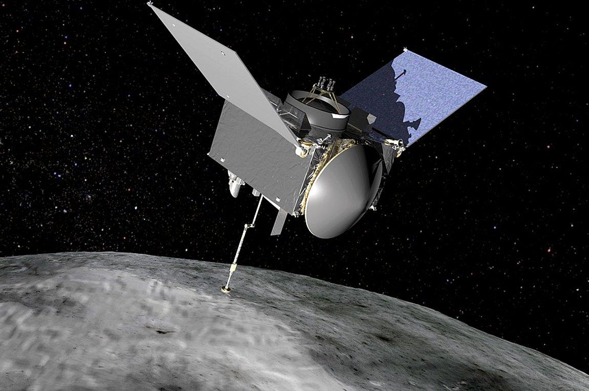 Το σκάφος OSIRIS-REx της NASA φθάνει σήμερα στον αστεροειδή Μπενού