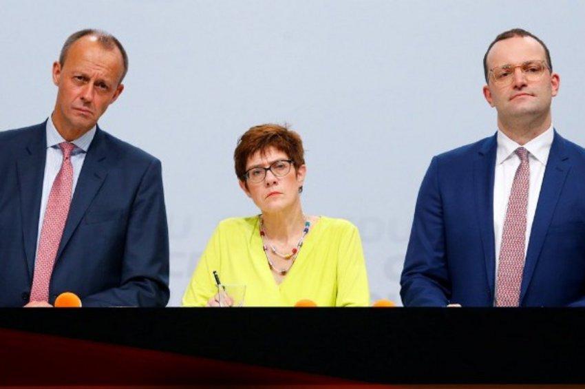 Γερμανία: To προφίλ των «μνηστήρων» για την ηγεσία του CDU