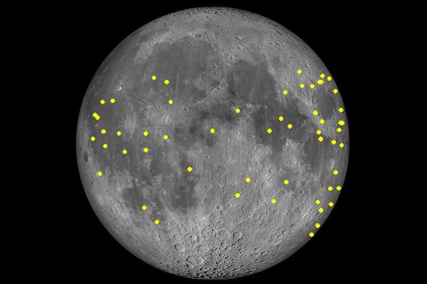Το τηλεσκόπιο του Εθνικού Αστεροσκοπείου στο Κρυονέρι έχει δει έως τώρα στη Σελήνη 55 λάμψεις από πρόσκρουση μετεωροειδών