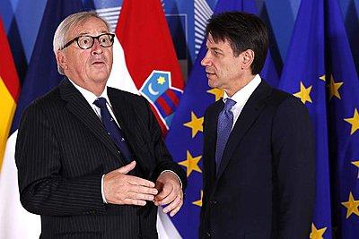 Συνάντηση Κόντε - Γιούνκερ την Τετάρτη στις Βρυξέλλες