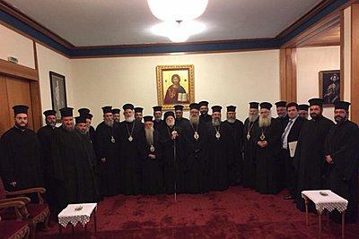 Εκκλησία της Κρήτης: «Οχι» στην συμφωνία Ιερώνυμου με Τσίπρα - Συνάντηση με Βαρθολομαίο