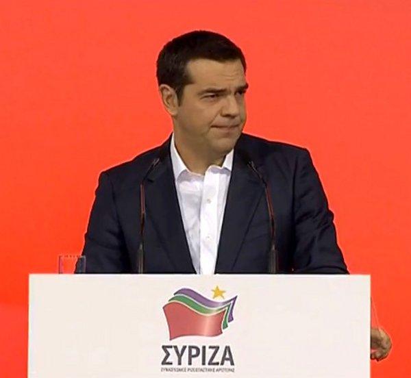 Τσίπρας: Η αριστερά δεν πουλάει την Μακεδονία, σώζει την κληρονομιά της - Πολιτικοί απατεώνες παριστάνουν τους υπερπατριώτες