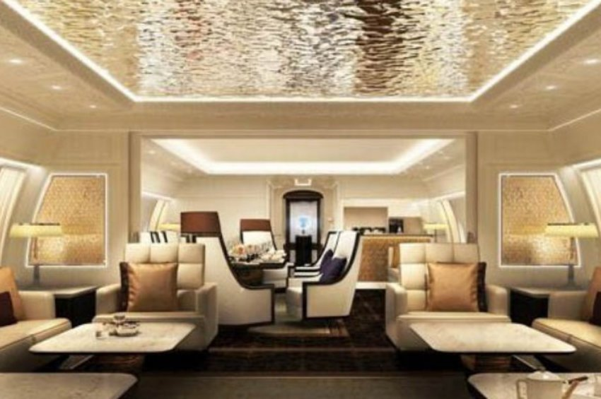 Boeing 777X: Ένα εξαιρετικά πολυτελές αεροσκάφος για σεΐχηδες