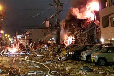 Έκρηξη σε εστιατόριο στην Ιαπωνία - Δεκάδες τραυματίες