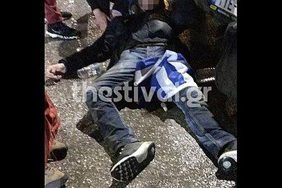 Σοκάρουν οι μαρτυρίες για την επίθεση στον 29χρονο με τη σημαία στη Θεσσαλονίκη