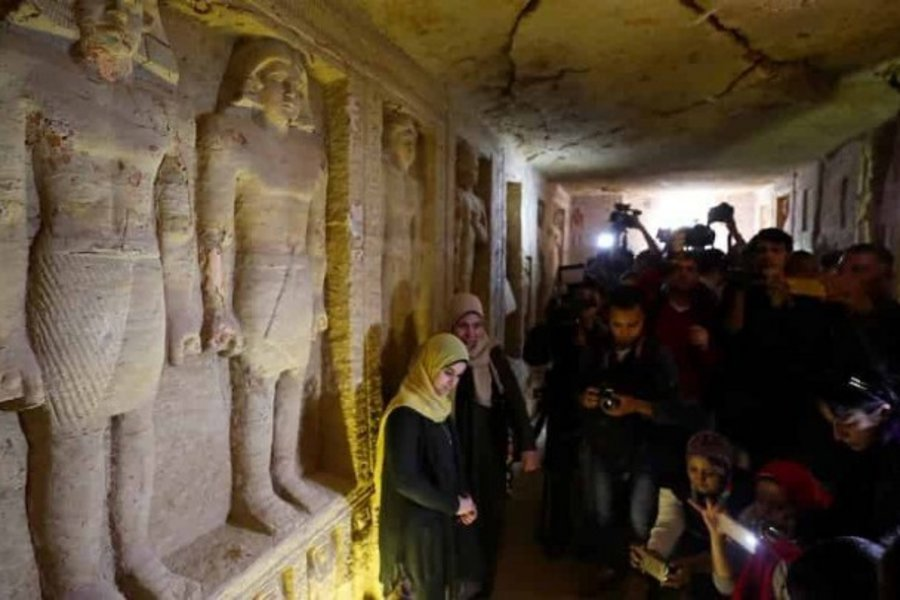 Τι εντόπισαν οι αρχαιολόγοι στον αιγυπτιακό τάφο που χρονολογείται πριν από 4.400 χρόνια