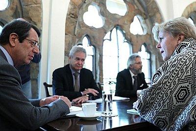 Κύπρος: Δημιουργική και παραγωγική χαρακτήρισε ο κυβερνητικός εκπρόσωπος τη συνάντηση Αναστασιάδη-Λουτ