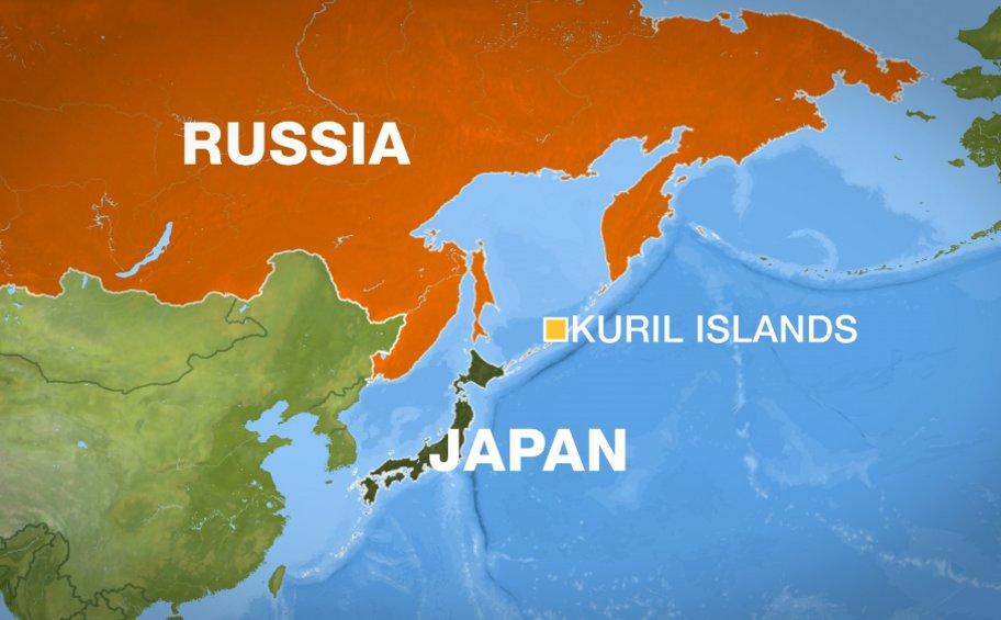Η Ρωσία αναπτύσσει στρατεύματα στις Κουρίλες Νήσους που διεκδικεί η Ιαπωνία