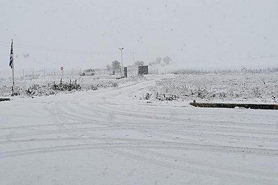 Χιονιάς σε Φθιώτιδα - Ευρυτανία: Που χρειάζονται αλυσίδες