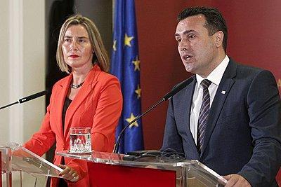 Συνάντηση Ζάεφ - Μογκερίνι την Τετάρτη στις Βρυξέλλες