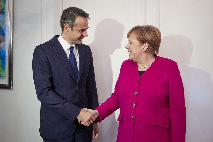 Στο Βερολίνο την ερχόμενη Πέμπτη ο Κυριάκος Μητσοτάκης - Συνάντηση με την Άνγκελα Μέρκελ
