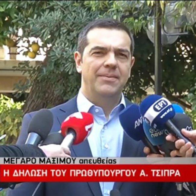 Τσίπρας: Καθαρές κουβέντες και καθαρές αποφάσεις- Νέος ΥΠΕΘΑ ο ναύαρχος Αποστολάκης - Ολη η δήλωση του πρωθυπουργού
