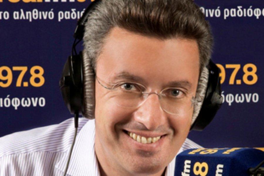 Ο Α. Χαρίτσης στην εκπομπή του Νίκου Χατζηνικολάου (14-1-2019)