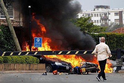 Κένυα: Τουλάχιστον 15 νεκροί από την εισβολή ενόπλων ισλαμιστών σε ξενοδοχείο - Εικόνες από την επίθεση - Νέα πυρά και εκρήξεις