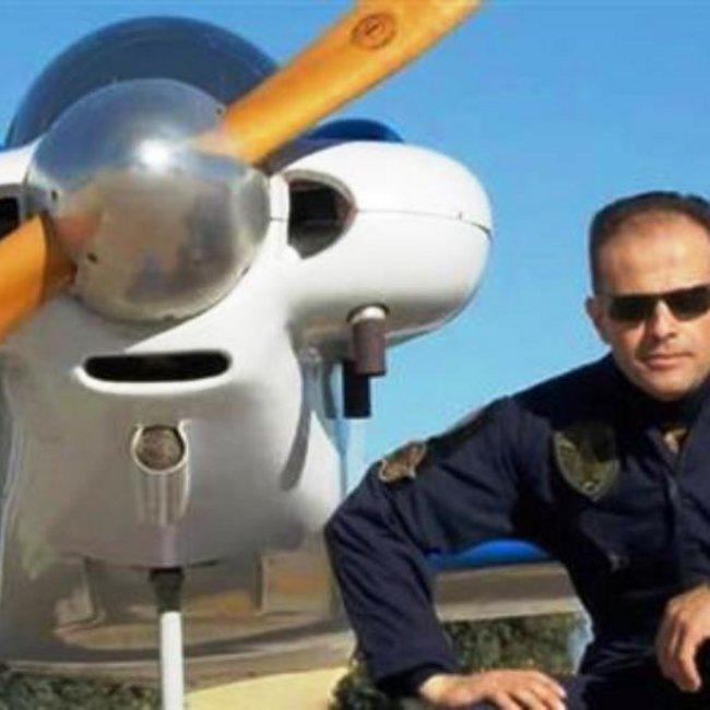 Αυτός είναι ο πιλότος του αεροπλάνου που κατέπεσε στο Μεσολόγγι