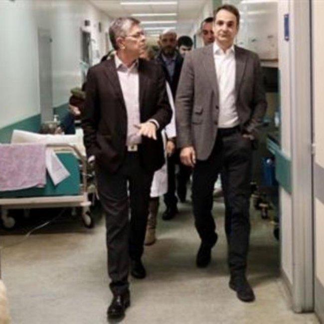 Αιφνίδια επίσκεψη Μητσοτάκη στο «Αττικόν»: Δραματική η κατάσταση - Θα αναβαθμίσουμε το σύστημα υγείας