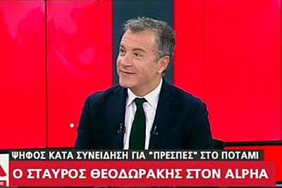 Θεοδωράκης για Τσίπρα: Χθες ήταν με έναν ακροδεξιό και τον Μαδούρο, τώρα ευρωπαϊστής