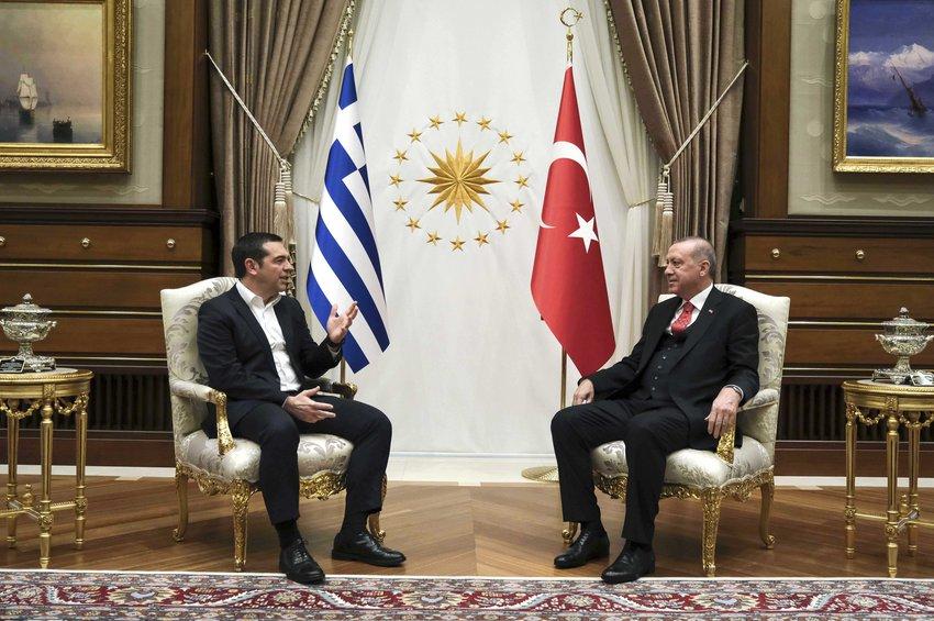 Καρέ-καρέ η επίσκεψη Τσίπρα στην Τουρκία - Η υποδοχή, οι συναντήσεις στο Προεδρικό και το δείπνο