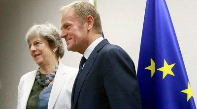 Τουσκ: Προβληματική η πρόταση Μέι - Δυνατή μικρή παράταση στο Brexit υπό όρους
