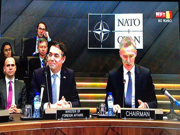 Ξεκίνησε η διαδικασία κύρωσης του πρωτοκόλλου ένταξης των Σκοπίων στο ΝΑΤΟ