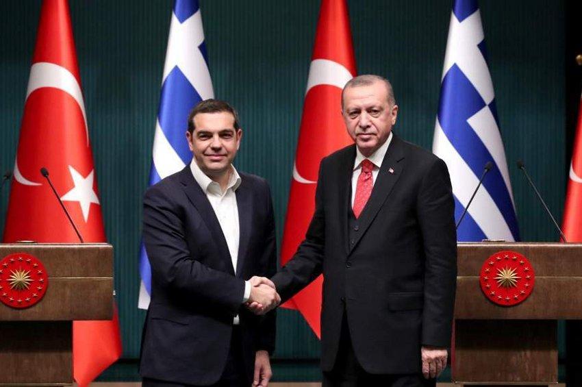 Διπλωματικές πηγές για τη συνάντηση Τσίπρα - Ερντογάν: Συμφωνία για μείωση της έντασης στο Αιγαίο και οικονομική συνεργασία