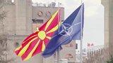 Στα Σκόπια έκαναν έπαρση της σημαίας του ΝΑΤΟ - Οι αναφορές του Ζάεφ στη «Βόρεια Μακεδονία»