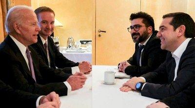 Τι συζήτησαν Τσίπρας-Μπάιντεν στο περιθώριο της Διάσκεψης για την Ασφάλεια