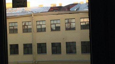 Κατέρρευσε τμήμα πανεπιστημιακού κτιρίου στην Αγία Πετρούπολη - Δείτε βίντεο ντοκουμέντο