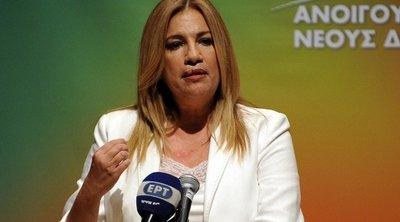 Γεννηματά: Ο Τσίπρας κάνει delivery υπουργείων σε «πρόθυμους» - Για Θεοχαρόπουλο: Το ΚΙΝΑΛ δεν είναι κλαμπ στελεχών