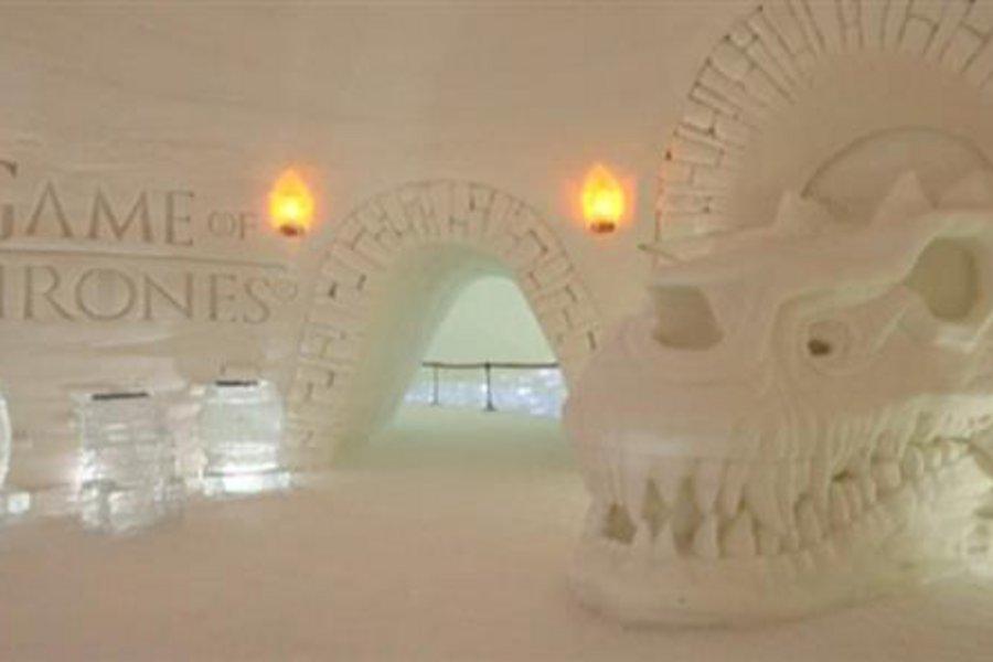 Ξενοδοχείο από πάγο αφιερωμένο στο... «Game of Thrones»