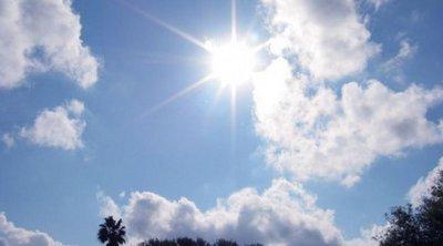 Ηλιοφάνεια και αυξημένες συγκεντρώσεις σκόνης - Έως 39 βαθμούς η θερμοκρασία