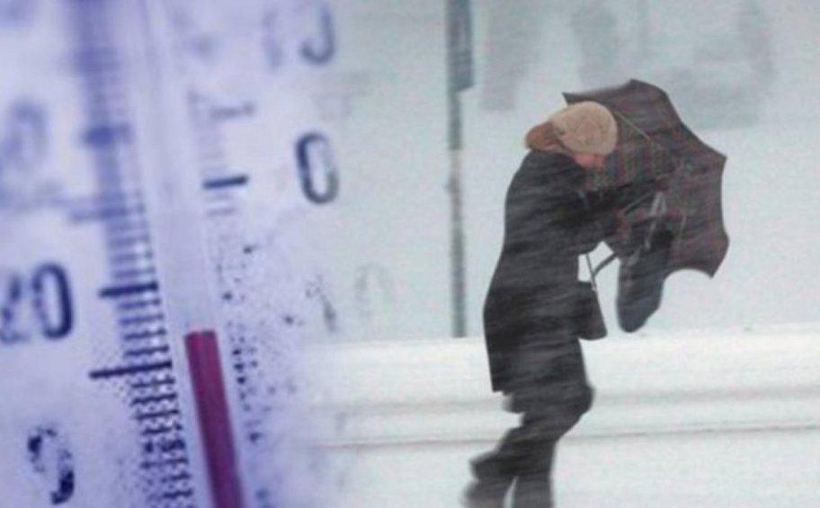 Ψυχρή «εισβολή» από την Παρασκευή - «Βουτιά» άνω των 10 βαθμών ο υδράργυρος